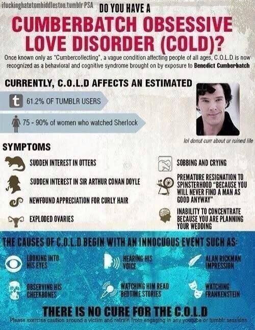 can't cure the #cold #cumberbatch