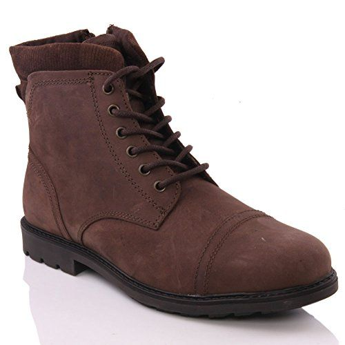 Unze Für Männer Hurey ' Laced -up stilvolle Smart Casual Stiefel - M18915 - http://on-line-kaufen.de/red-tape/unze-fuer-maenner-hurey-laced-up-stilvolle-smart