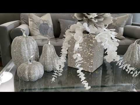 10 Ways To Style Your Coffee Table For Fall Ideas De Glam Glam Glamfall Youtube Coffee Table Video Fall Decor Dollar Tree Crafts