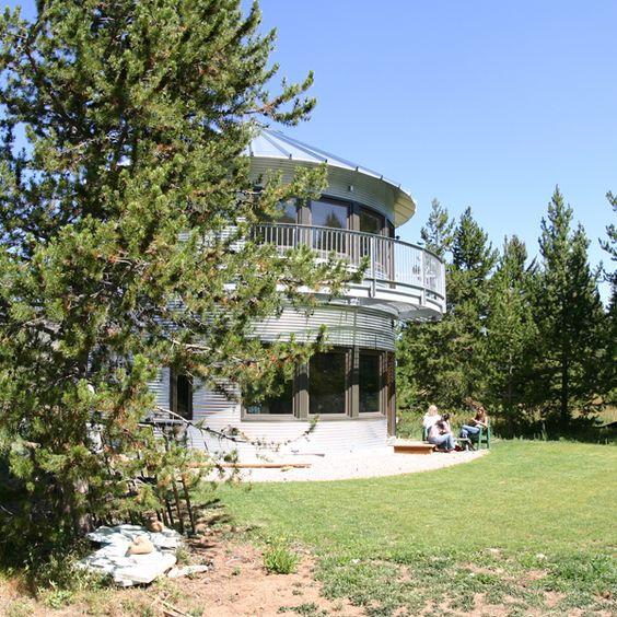 Utah Home Design Architects: Monte Silo House, Woodland, Utah, US