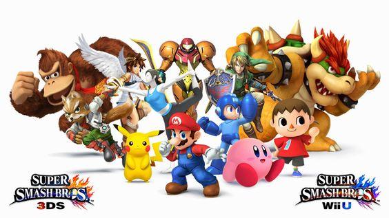 Games - Super Smash Bros. (Wii U e 3DS)