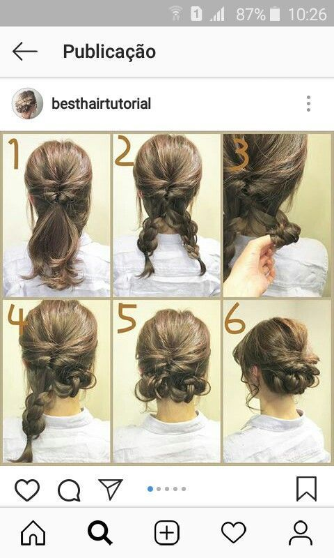 Simple And Cute Cute Hairstyle Hairstyles Simple Medium Length Hair Styles Short Hair Styles Easy Hair Styles
