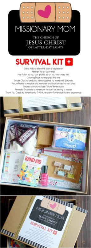 DIY Missionary Mom Survival Kit Printable