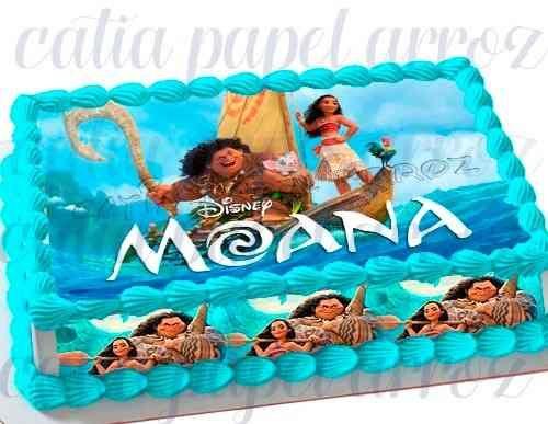 Faixa Lateral De Bolo Da Moana Moana Party Moana Cake Moana