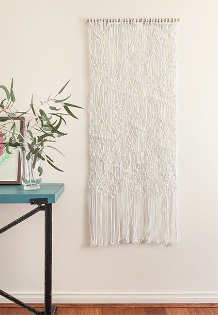 Freestyle macrame wall hanging - Nuvo Studios - Art for your home