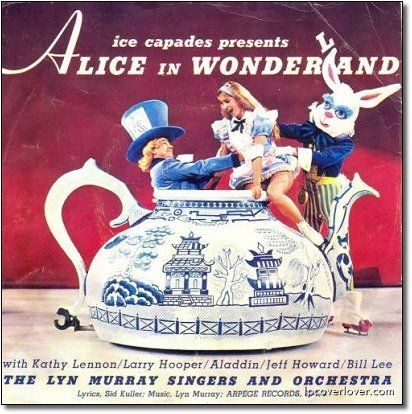 Unintentionally Terrifying Children's Album Covers.  Someone please help Alice!!