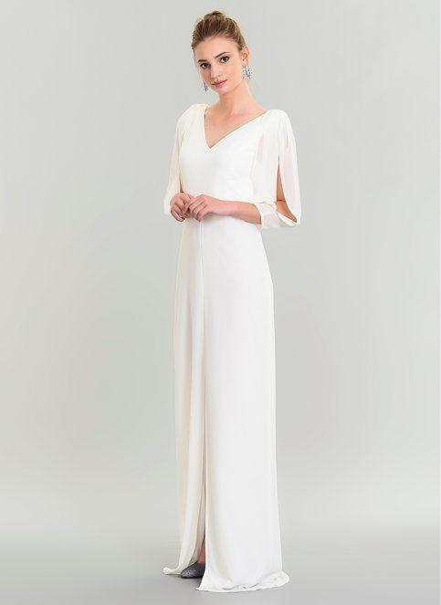 People By Fabrika Kadin Kollari Sifon Abiye Elbise Beyaz Indirimli Fiyat Morhipo 21619438 Kiyafet Elbise Moda Stilleri