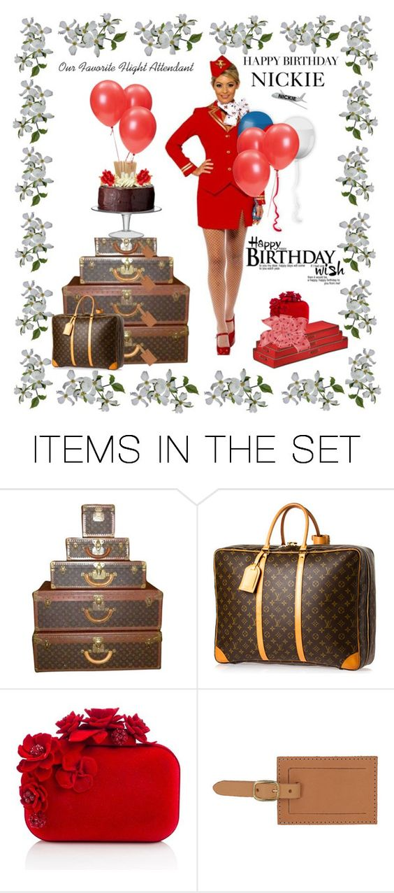 """Happy Birthday To Nickie"" by beleev ❤ liked on Polyvore featuring art"