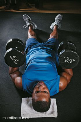 Build Muscle Strength and a Better Body With This Dumbbell Workout - Men's Fitness - Page 2