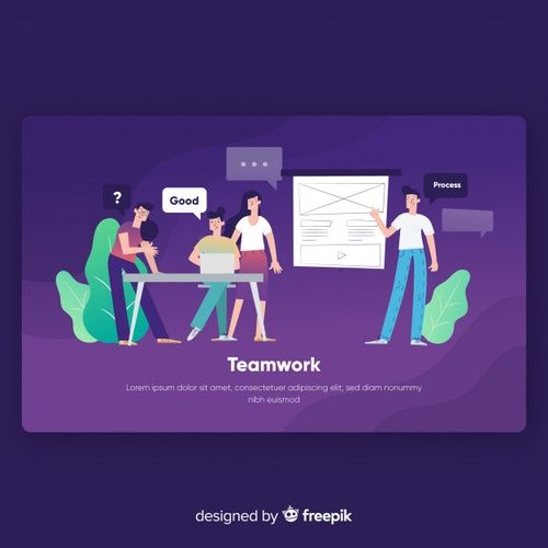 Download Teamwork Landing Page Template For Free Page Template Teamwork Website Design Inspiration