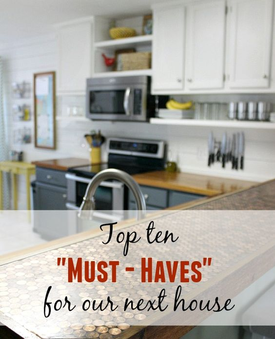 28 must haves when building a new home must haves in