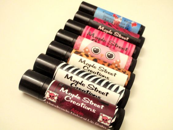 Personalized Lip Balm Party Favors  Quantity of by MajesticSoaps, $1.00