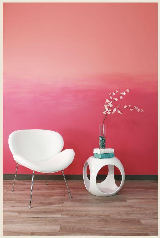 Die besten 25+ Coral accent walls Ideen auf Pinterest - wand streichen ideen schlafzimmer selbermachen