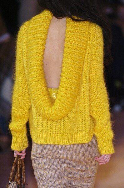 make ya look twice with a sweater like that :)