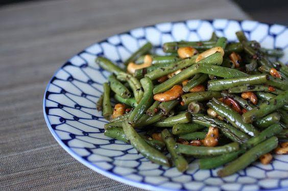 Spicy Summer Green Beans