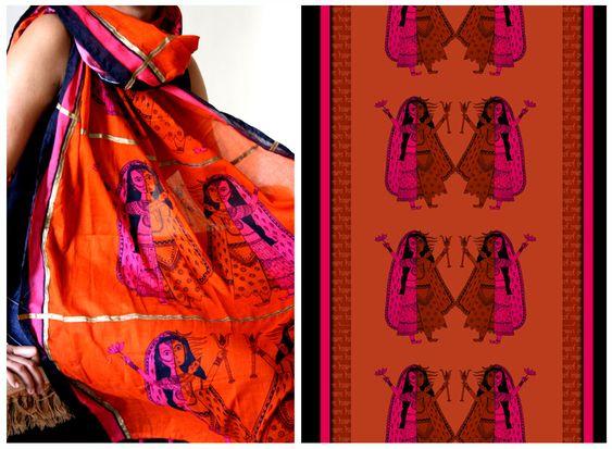 UDD Fabric Design.shiv-parvati_color way 2