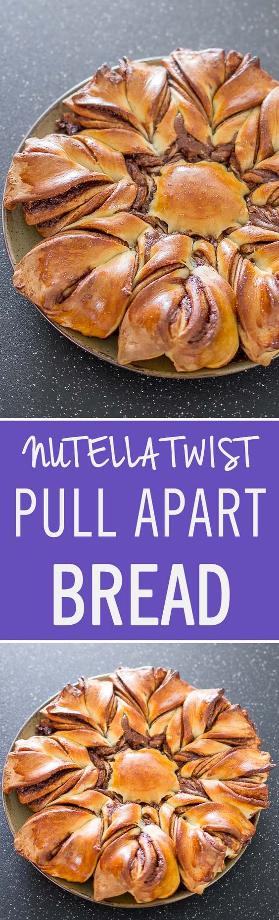 Pull apart bread, Pull apart and Nutella on Pinterest