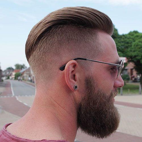 frisur nach hinten gestylt m舅ner   meilleure coiffure moderne