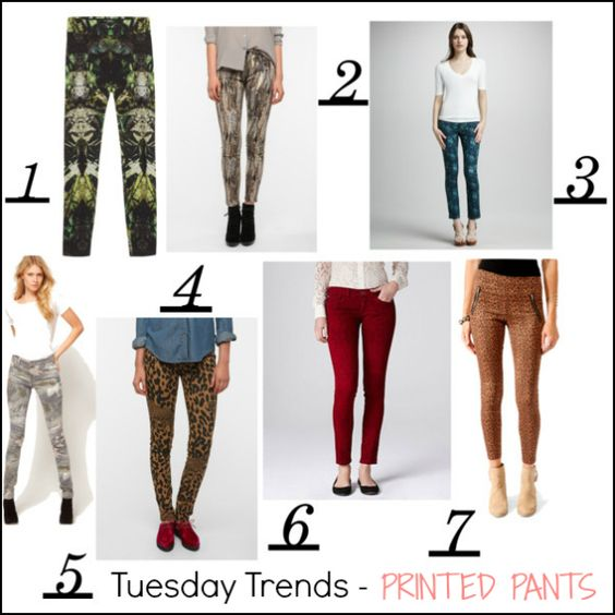 tuesday trends – printed pants for fall | STYLE ME GRASIE