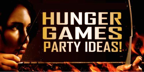 Hunger Games Party Ideas to set your party on fire! Includes printable Hunger Games party scavenger hunt!