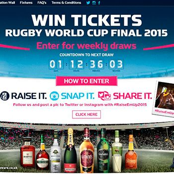 William Grant unveils Rugby World Cup campaign