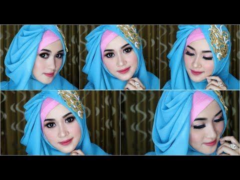 Cara Hijab Pasmina Hijab Pesta Hijab Kondangan Hijab Wisuda Hijab Super Simple Tanpa Banyak Jarum Youtube Kursus Hijab Gaya Hijab Hijab