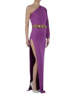 Dsquared2 Maxi Dress With Jewel Belt