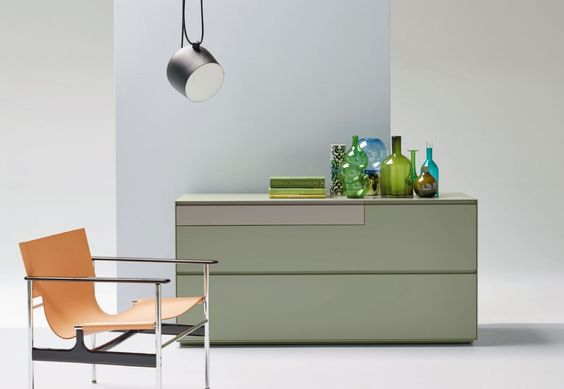 Piure Nex #Sideboard mit Griffmulde @piuregmbh Regale, Schränke - schlafzimmer helsinki malta