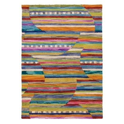 Company C Rug. Great color. Originally saw on House of Turquoise blog: Dream Home Tour/Day Four