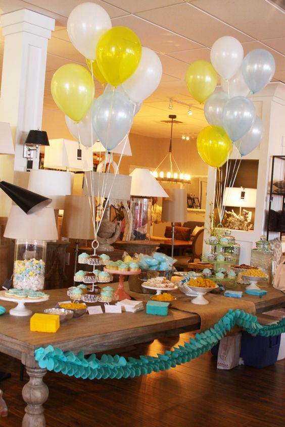 fun summer party styling