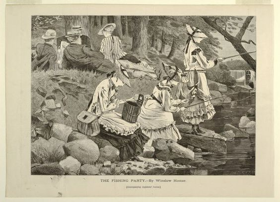 "Tri-State NJ NY PA on Twitter: ""@MinisinkGen The Fishing Party, Appletons' Journal, 1869, after Winslow Homer #SawkillGlen https://t.co/4aeRorxd0i https://t.co/0RSQpQsdSd"""