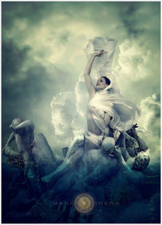 Birth of Venus by MarcoHerrera on @DeviantArt