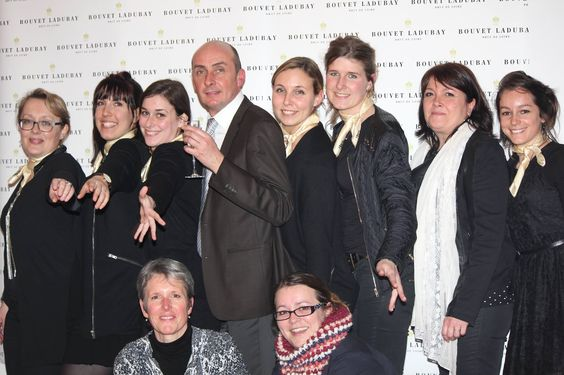 some of our most sparkling Bouvet Ladubay team members !