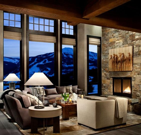 Séjour rustique de ce chalet luxe offrant des vacances en montagne dépaysant