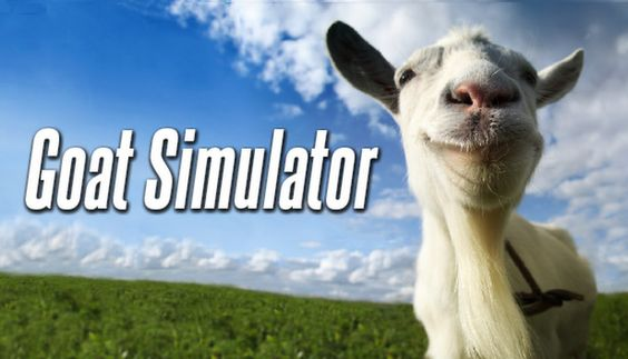 Goat Simulator a strangely addictive and slightly disturbing indie game :)