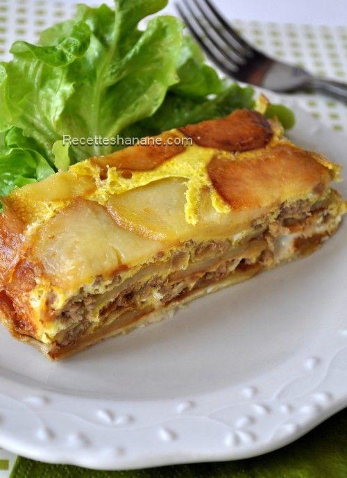 Tranches de pomme de terre gratin and tortillas on pinterest - Recette cuisine couscous tunisien ...