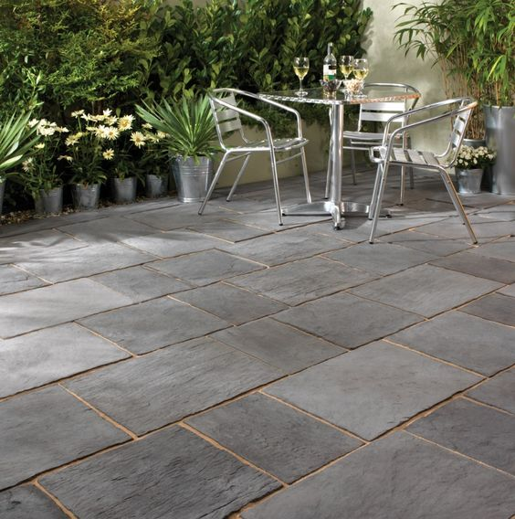 patio design outdoor patios metals slate patio lawn tile patterns lawn