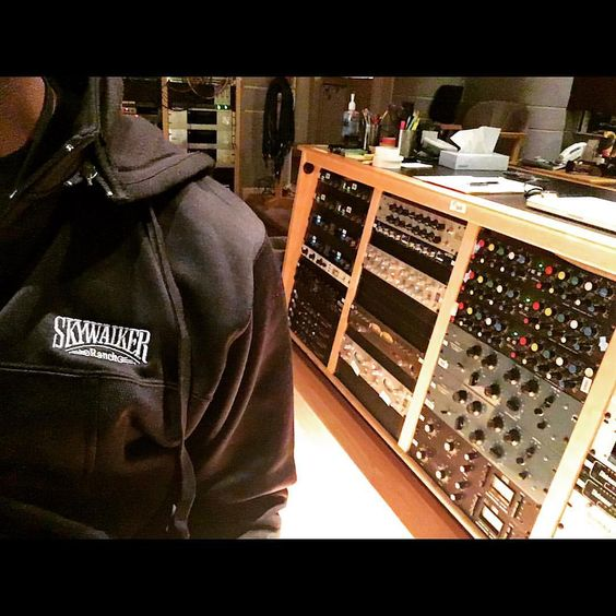 scoring day @skywalkersound #skywalker @sundanceinstitute #sundancelabs2016 #sundancelabs @jermainestegall #studio #orchestra (at Skywalker Scoring Stage) #jermainestegall