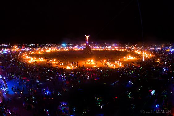 Burning man!