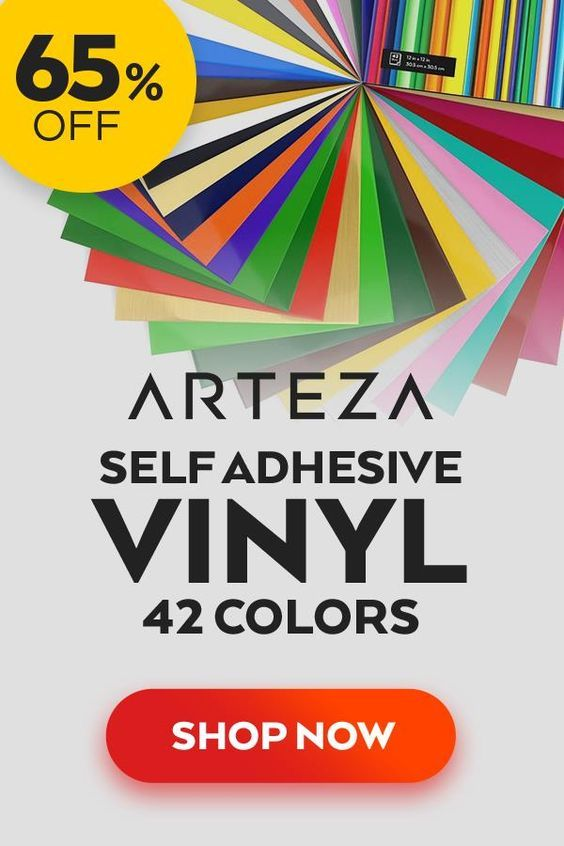 12 X 12 Self Adhesive Vinyl Assorted Colors 42 Sheets Adhesive Vinyl Cricut Vinyl Vinyl