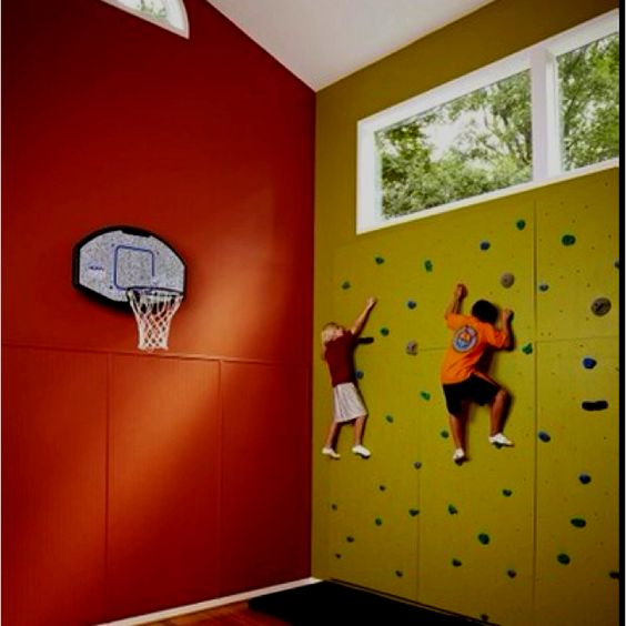 Soo cool kids basement dream home decor pinterest house i love and kid - Cool basement ideas for kids ...