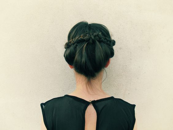 .: Braided Updo, Up Dos, Hair Beauty, Hair Makeup, Braided Hairstyles, Hair Style