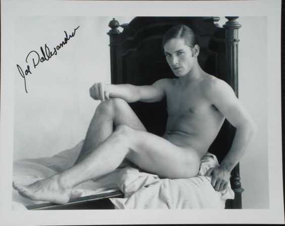 """This is an AUTHENTIC HAND SIGNED ORIGINAL RARE 8""""x10"""" BW photo of JOSEPH ANGELO DALLESANDRO."""