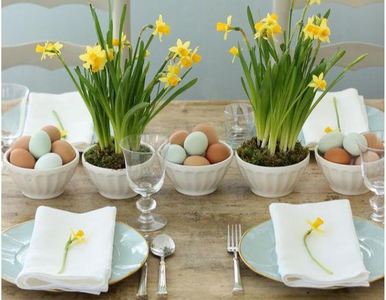 E' arrivata la Pasqua: 30 idee per la tua tavola!