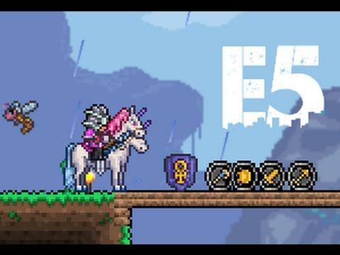 Terraria Unicorn Mount Unicorn Terrarium Unicorn Mounting
