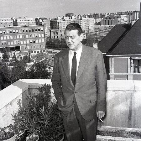 Otto Skorzeny en Madrid, fotografiado por Campúa en 1958