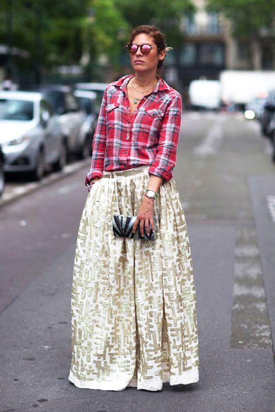 grunge meets glam street style | harpers bazaar via coco + kelley