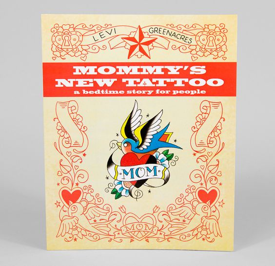 Levi Greenacres - Mommy's New Tattoo  I must have this book