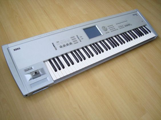 Korg Triton Pro Music workstation. Currently own.