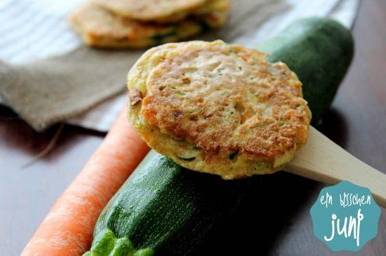 Vollkorn-Gemüse-Puffer